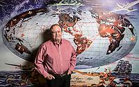 Jim Dunn, owner of AirTel Plaza Hotel in Van Nuys, CA. December 22, 2014. Photo by David Sprague