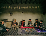Family home. The traditional life of the Wakhi people, in the Wakhan corridor, amongst the Pamir mountains.