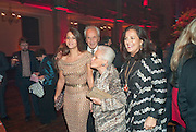 MARGHERITA MISSONI; ROSITA MISSONI; ANGELA MISSONI, IMG HERALD TRIBUNE HERITAGE LUXURY PARTY.- Celebration of Heritage Luxury and 10 years of the International Herald Tribune Luxury Conferences. North Audley St. London. 9 November 2010. -DO NOT ARCHIVE-© Copyright Photograph by Dafydd Jones. 248 Clapham Rd. London SW9 0PZ. Tel 0207 820 0771. www.dafjones.com.