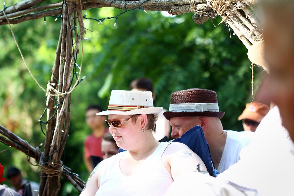 The first Wild Goose Festival at Shakori Hills in North Carolina June 2011.