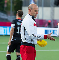 ANTWERPEN - assistent-coach Eric Verboom (Ger)  voor  hockeywedstrijd  mannen ,Nederland-Duitsland (3-2) ,   bij het Europees kampioenschap hockey.   COPYRIGHT KOEN SUYK