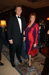 TV presenter and Founder of ChildLine ESTHER RANTZEN and MICHAEL BOWEN at a ball in aid of Diema's Dream - a foundation for Russian Disabled Children held at The Four Seasons Hotel, Hamilton Place, London on 24th November 2006.<br /><br />NON EXCLUSIVE - WORLD RIGHTS