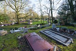 Begraafplaats Westerveld, Driehuis