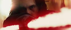 Star Wars: The Last Jedi..Kylo Ren (Adam Driver)..Photo: Film Frames Industrial Light & Magic/Lucasfilm..©2017 Lucasfilm Ltd. All Rights Reserved.