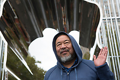 Chinese Artist Ai Weiwei's art project in New York City - 13 Oct 2017