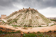 Citadel of Aleppo, It is considered to be one of the oldest and largest castles in the world. Usage of the Citadel hill dates back at least to the middle of the 3rd millennium BC. Subsequently occupied by many civilizations including the Greeks, Byzantines, Ayyubids and Mamluks. Syria