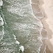 WRIGHTSVILLE BEACH, NC - Aerials of beach scenes.