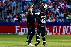 James Neesham of New Zealand celebrates - Mandatory by-line: Robbie Stephenson/JMP - 03/07/2019 - CRICKET - Emirates Riverside - Chester-le-Street, England - England v New Zealand - ICC Cricket World Cup 2019 - Group Stage