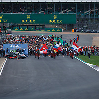 Before the start on 19/08/2018 at the Silverstone 6H, 2018