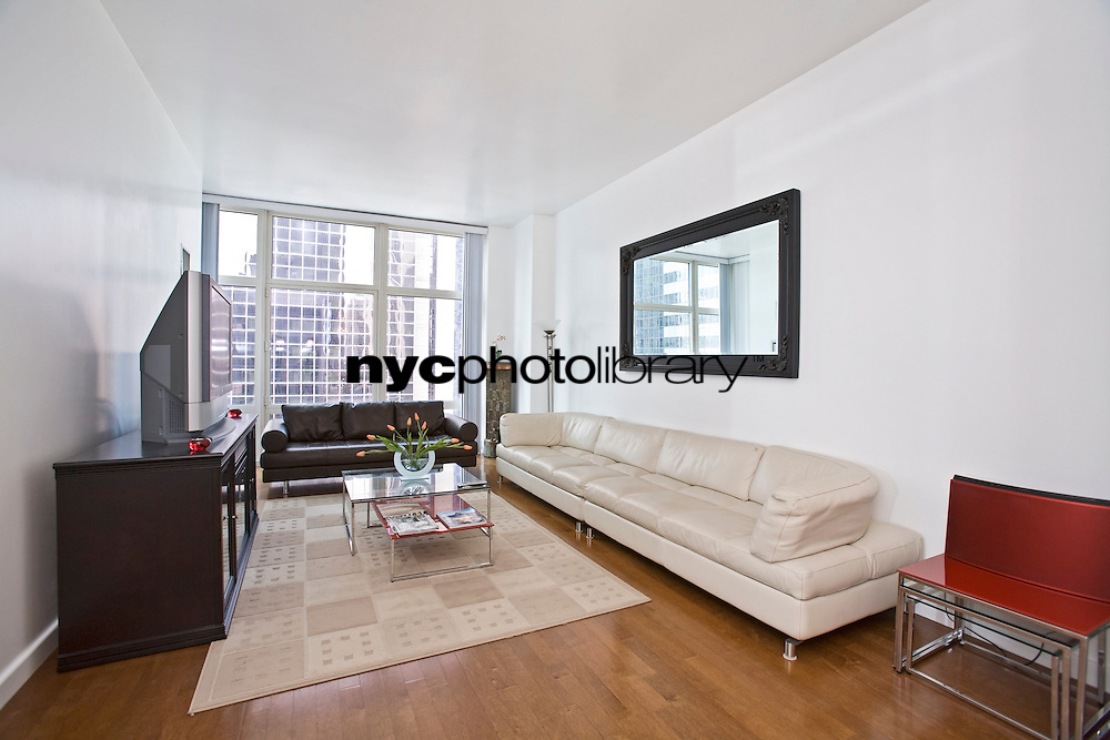 Living Room at 1600 Broadway