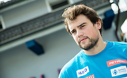 Bostjan Kline at departure of Slovenian Men Ski Team to training camp in Argentina and Chile on August 21, 2014 in SZS, Ljubljana, Slovenia. Photo by Vid Ponikvar / Sportida.com