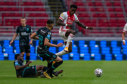 Ahmed Touba of RKC Waalwijk, Quincy Promes of Ajax  in action during eredivisie round 02 between Ajax and RKC at Johan Cruyff Arena on September 20, 2020 in Amsterdam, Netherlands