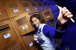 A esgrimista Silvia Rothfeld no clube onde treina em Porto Alegre. FOTO: Jefferson Bernardes/Preview.com