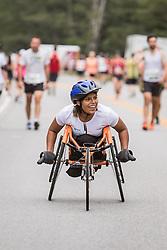 wheelchair athlete Christina Kouros of Cape Elizabeth