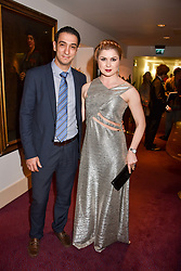 Bella Sovmiz and Yiangos Droussiotis at the Russian Ballet Icons Gala, The London Coliseum, St.Martin's Lane, London,  England. 12 March 2017.