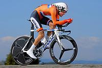 Tom DUMOULIN (Ned) during the UCI Road World Championships 2014, in Ponferrada,  Spain, Time Trial Men Elite,  Ponferrada - Ponferrada (47Km), on September 24, 2014. Photo Tim de Waele / DPPI