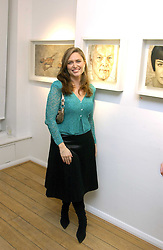 SHEBAH RONAY at an exhibition of artist Jonathan Yeo's portrait paintings held at Eleven, 11 Eccleston Street, London SW1 on 16th February 2006.<br /><br />NON EXCLUSIVE - WORLD RIGHTS