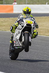 June 9, 2017 - Barcelona, Catalonia, Spain - MotoGP - Alvaro Bautista(Spa), Pull&Bear Aspar Team during the MotoGp Grand Prix Monster Energy of Catalunya, in Barcelona-Catalunya Circuit, Barcelona on 9th June 2017 in Barcelona, Spain. (Credit Image: © Urbanandsport/NurPhoto via ZUMA Press)