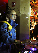 New York, NY-December 20: Recording Artist Erykah Badu aka DJ Low Down Loretta Brown spins at the Ascension Party-A Holiday Affair curated by D'Prosper and held at the Top of the Standard on December 20, 2017 in New York City.  (Terrence Jennings/terrencejennings.com)