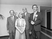 European luncheon at zoo restaurant, Dublin,<br /> 31st May 1984
