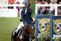 Blom Merel, (NED), The Quizmaster<br /> Jumping 6 years of age<br /> Mondial du Lion - Le Lion d'Angers 2015<br /> © Dirk Caremans<br /> 18/10/15