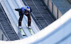 31.12.2017, Olympiaschanze, Garmisch Partenkirchen, GER, FIS Weltcup Ski Sprung, Vierschanzentournee, Garmisch Partenkirchen, Training, im Bild Gregor Schlierenzauer (AUT) // Gregor Schlierenzauer of Austria during his Practice Jump for the Four Hills Tournament of FIS Ski Jumping World Cup at the Olympiaschanze in Garmisch Partenkirchen, Germany on 2017/12/31. EXPA Pictures © 2017, PhotoCredit: EXPA/ Jakob Gruber