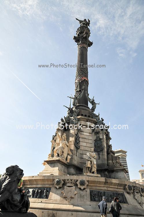 Christopher Colombus Column, Barcelona, Spain