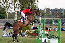 Rytz Aurélie, SUI, Idalville d'Esprit<br /> European Championship Children, Juniors, Young Riders - Fontainebleau 1028<br /> © Hippo Foto - Dirk Caremans<br /> Rytz Aurélie, SUI, Idalville d'Esprit