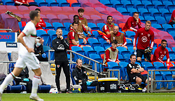 CARDIFF, WALES - Sunday, September 6, 2020: Wales' manager Ryan Giggs during the UEFA Nations League Group Stage League B Group 4 match between Wales and Bulgaria at the Cardiff City Stadium. (Pic by David Rawcliffe/Propaganda)