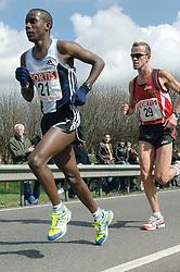 09-04-2006 ATLETIEK: FORTIS MARATHON: ROTTERDAM<br /> De 26e editie van de marathon van Rotterdam - Alfred Shemweta (21)<br /> ©2006-WWW.FOTOHOOGENDOORN.NL