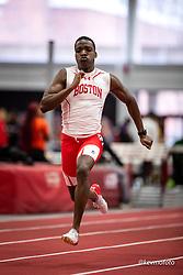 Harvard University<br /> Crimson Elite Indoor track & field meet<br /> men 60m qualifying<br /> Ibeh, Emeka