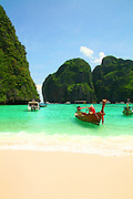 Ao Maya Beach on Ko Phi Phi Leh Island