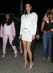 Celebrities at the Tom Ford show in New York. 05 Sep 2018 Pictured: Adriana Lima. Photo credit: MEGA TheMegaAgency.com +1 888 505 6342