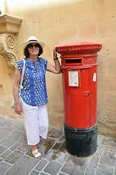 Red postboxes, Valetta, Malta, July 2018. MR