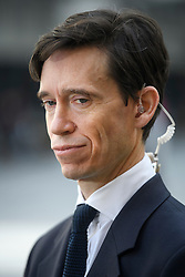 © Licensed to London News Pictures. 14/06/2019. London, UK. Leadership candidate RORY STEWART MP is seen talking to media at BBC Broadcasting House in London following a BBC radio interview. Boris Johnson has cemented his position as favourite to become the next Prime Minster after winning a landslide in the first round of the conservative party's leadership race, with Jeremy Hunt a distant second. Photo credit: Ben Cawthra/LNP