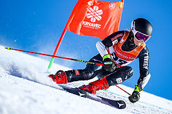 Andrea Komsic (CRO) during giant slalom race at FIS European Cup Krvavec 2021, February 2, 2021 in Krvavec, Cerklje na Gorenjskem, Slovenia. Photo by Matic Klansek Velej / Sportida