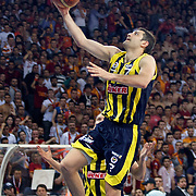 Fenerbahce Ulker's Omer ONAN during their Turkish Basketball league Play Off Final Sixth leg match Galatasaray between Fenerbahce Ulker at the Abdi Ipekci Arena in Istanbul Turkey on Friday 17 June 2011. Photo by TURKPIX