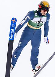 February 8, 2019 - Lahti, Finland - Je-Un Park competes during Nordic Combined, PCR/Qualification at Lahti Ski Games in Lahti, Finland on 8 February 2019. (Credit Image: © Antti Yrjonen/NurPhoto via ZUMA Press)