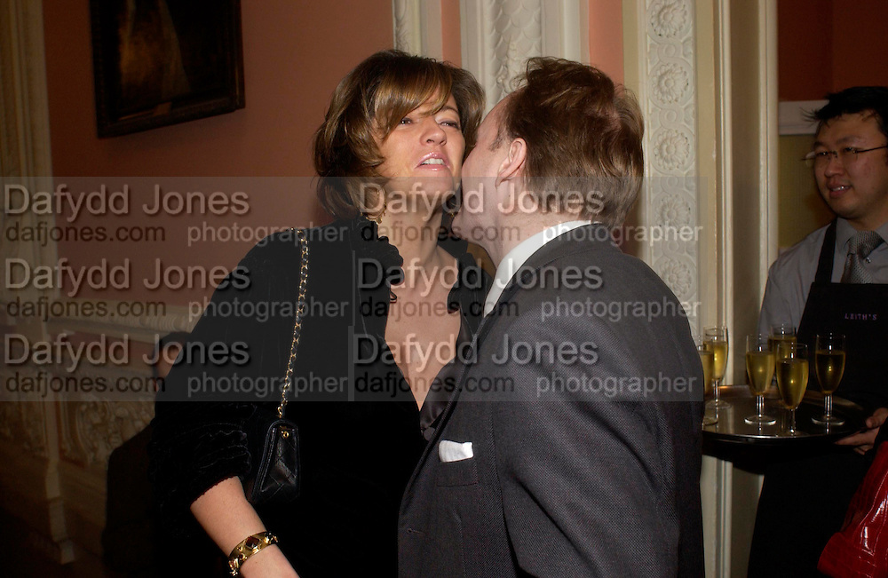 Petronella Wyatt and Andrew Roberts andrew Roberts and Leonie Frieda celebrate the publication of Andrew's 'Waterloo: Napoleon's Last Gamble' and the paperback of Leonie's 'Catherine de Medic'i. English-Speaking Union, Dartmouth House. London. 8 February 2005. ONE TIME USE ONLY - DO NOT ARCHIVE  © Copyright Photograph by Dafydd Jones 66 Stockwell Park Rd. London SW9 0DA Tel 020 7733 0108 www.dafjones.com