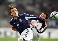 Fotball<br /> Privatlandskamp<br /> Tyskland v Argentina<br /> 9. februar 2005<br /> Foto: Digitalsport<br /> NORWAY ONLY<br /> Gabriel HEINZE, Kevin KURANYI