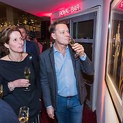 NLD/Utrecht/20190309 - Onthulling  Mies Bouwman Foyer, Albert Verlinde met dochter Mies Timp