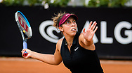 Madison Keys of the United States in action during the first round of the 2021 Internazionali BNL d'Italia, WTA 1000 tennis tournament on May 11, 2021 at Foro Italico in Rome, Italy - Photo Rob Prange / Spain ProSportsImages / DPPI / ProSportsImages / DPPI
