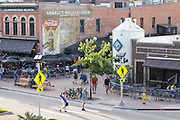 CoopersSmith's Brew Pub in the downtown historic shopping and restaurant district in Fort Collins, Colorado.