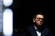 Victorian Premier Daniel Andrews speaks to the media during a press conference in Melbourne, Australia. Victorian Premier Daniel Andrews has announced a 'State of Disaster' and increased restrictions for Victoria. The Premier announced that 671 new cases of COVID were detected, 73 connected to outbreaks, 598 under investigation and seven people died overnight. Stage 3 restrictions will be reintroduced to regional Victoria while Metropolitan Melbourne will now be in Stage 4. An 8pm to 5am curfew will be introduced starting today. (Photo by Dave Hewison/ Speed Media)