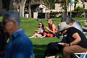 SCU Presents Jazz on the Lawn at Santa Clara University in Santa Clara, California, on June 1, 2019. (Stan Olszewski/SOSKIphoto)