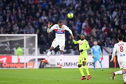 January 14, 2018 - Lyon, France - 07 Karl TOKO EKAMBI (sco) - 06 MARCELO  (Credit Image: © Panoramic via ZUMA Press)