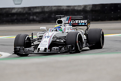 November 11, 2017 - Sao Paulo, Sao Paulo, Brazil - 19 FELIPE MASSA, of Williams Martini Racing drives during the free training for the Formula One Grand Prix of Brazil at Interlagos circuit, in Sao Paulo, Brazil. The grand prix will be celebrated next Sunday, November 12. (Credit Image: © Paulo Lopes via ZUMA Wire)