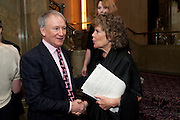 ANTHONY FIENNES TROTMAN; KATE HOEY,  House of Lords and House of Commons Parliamentary Palace of Varieties in aid of Macmillan Cancer Support. <br /> Park Lane Hotel, Piccadilly, London, 7 March 2012.