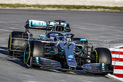 February 18, 2019 - Barcelona, Spain - 77 BOTTAS Valtteri (fin), Mercedes AMG F1 GP W10 Hybrid EQ Power+, action during Formula 1 winter tests from February 18 to 21, 2019 at Barcelona, Spain - : FIA Formula One World Championship 2019, Test in Barcelona, (Credit Image: © Hoch Zwei via ZUMA Wire)