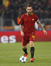 December 5, 2017 - Rome, Italy - Roma s Daniele De Rossi in action during the Champions League Group C soccer match between Roma and Qarabag at the Olympic stadium. Roma won 1-0 to reach the round of 16. (Credit Image: © Riccardo De Luca/Pacific Press via ZUMA Wire)